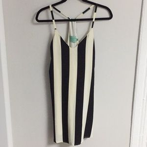 Black and White Striped Dress Judith March